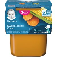 Gerber 2nd Foods Baby Food, Sweet Potato Corn, 4 Ounce