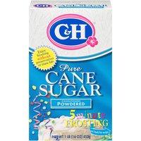 C&H Powdered Sugar, 16 Ounce