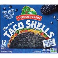 Garden of Eatin' Taco Shells, Blue Corn, 5.5 Ounce