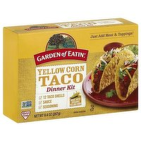 Goe Taco Kit Yellow Corn, 9.4 Ounce