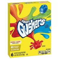 Betty Crocker Fruit Gushers Snacks, Fruit Flavored, 4.8 Ounce