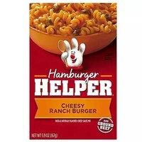 Betty Crocker Hamburger Helper, Cheesy Ranch Burger, 5.9 Ounce