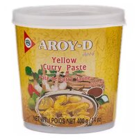 Aroy D Yellow Curry Paste, 14 Ounce