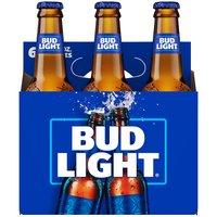 Bud Light Beer, Bottles(Packof6), 12 Ounce