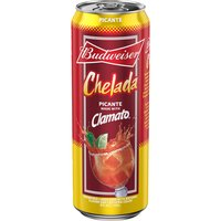 Bud Chelada Picante Beer, 25 Ounce