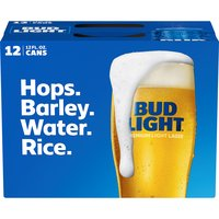 Bud Light Beer, Cans (Pack of 12), 12 Ounce