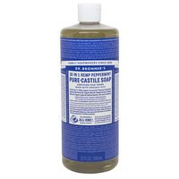 Dr. Bronner's Liquid Soap, Pure-Castile Peppermint, 32 Ounce