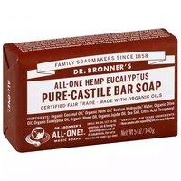 Dr. Bronner's Bar Soap, Pure-Castile Eucalyptus, 5 Ounce