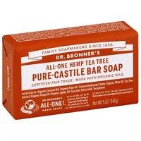 Dr. Bronner's Bar Soap, Pure-Castile Tea Tree, 5 Ounce