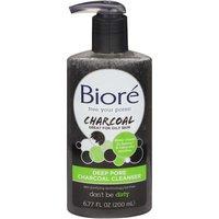 Biore Deep Pore Charcoal Cleanser, 6.77 Ounce