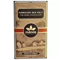 Manoa Chocolate 72%, Hawaiian Sea Salt, 1.76 Ounce