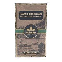 Manoa Chocolate Bar, Milk Chocolate, 1.76 Ounce