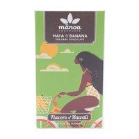 Manoa Chocolate Flavor of Hawaii Collection, Mai'i X Banana, 60 Gram