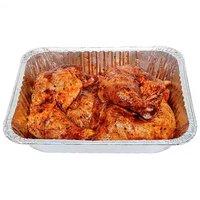 BBQ Chicken Leg Quarters Pan , 5 Pound