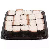 """12"""" Party Platter, Spam Musubi, 1 Inch"""