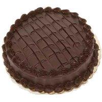 "8"" Single Layer Cake, Double Dutch Fudge, 1 Each"