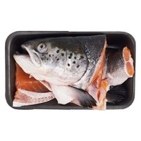 Fresh Salmon Head/Bones, 1 Pound