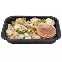 Grab N Go Platter, Scallops with Sauce, 1 Pound