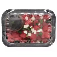 Grab N Go Platter,  Ahi Cubes with Sauce, 1 Pound