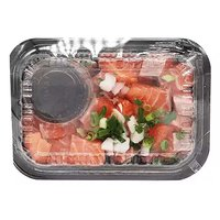 Grab N Go Platter, Salmon with Sauce , 1 Pound