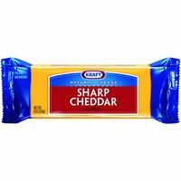 Kraft Sharp Cheddar Cheese Chunk, 8 Ounce