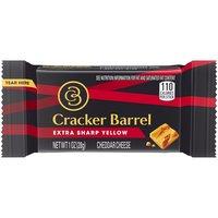 Cracker Barrel Extra Sharp Cheddar Cheese Sticks, 1 Ounce