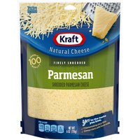 Kraft Fine Shredded Parmesan Cheese, 6 Ounce