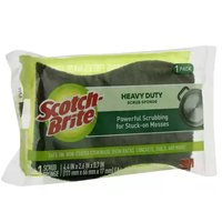 Scotch Brite Heavy Duty Scrub Sponge, 1 Each