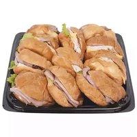 Party Platter, Boar Head's Mini Croissant Sandwich, 12 Inch