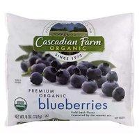 Cascadian Farm Organic Blueberries, 8 Ounce