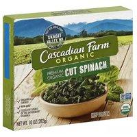 Cascadian Farm Organic Cut Spinach, 10 Ounce