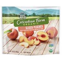 Cascadian Farm Premium Organic Sliced Peaches, 10 Ounce