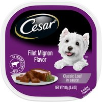 Cesar Canine Cuisine, Filet Mignon Flavor , 3.5 Ounce