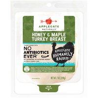 Applegate Turkey Breast, Honey & Maple , 7 Ounce