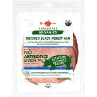 Applegate Organic Black Forest Ham, Uncured, 6 Ounce
