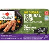 Applegate Naturals Pork Breakfast Sausage, No Sugar, 7 Ounce
