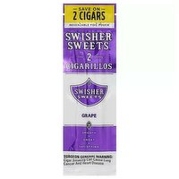 Swisher Swts Cigarillo Grp 2pk, 1 Each