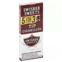Swisher Swt Cigarillo Tp 5for3, 5 Each