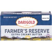 Darigold Farmer's Reserve Butter,  Unsalted, 8 Ounce