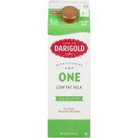 Darigold One Low Fat Milk, 32 Ounce