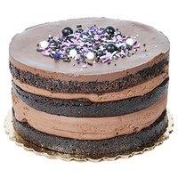 "6"" Cake, Chocolate Espresso, 6 Inch"