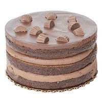 """6"""" Cake, Chocolate Peanut Butter Cup, 6 Inch"""