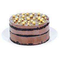 "6"" Cake, Chocolate Ganache, 6 Inch"