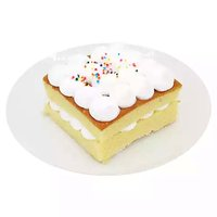Cake Slice, Yellow, 4 Ounce