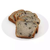 1/2 Loaf Cake, Sliced Blueberry Cream, 8 Ounce
