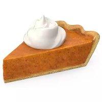 Pumpkin Pie Slice, 3 Ounce