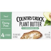 Country Crock Plant Butter, Avocado Oil, 16 Ounce
