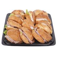 "12"" Platter, Mini Croissant Sandwiches, 12 Inch"