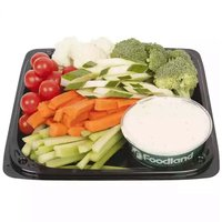 """12"""" Party Platter, Chef Made Fresh Vegetable,  Assorted, 12 Inch"""