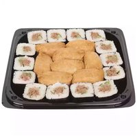 "12"" Platter, Homestyle Maki & Inari Sushi, 12 Inch"